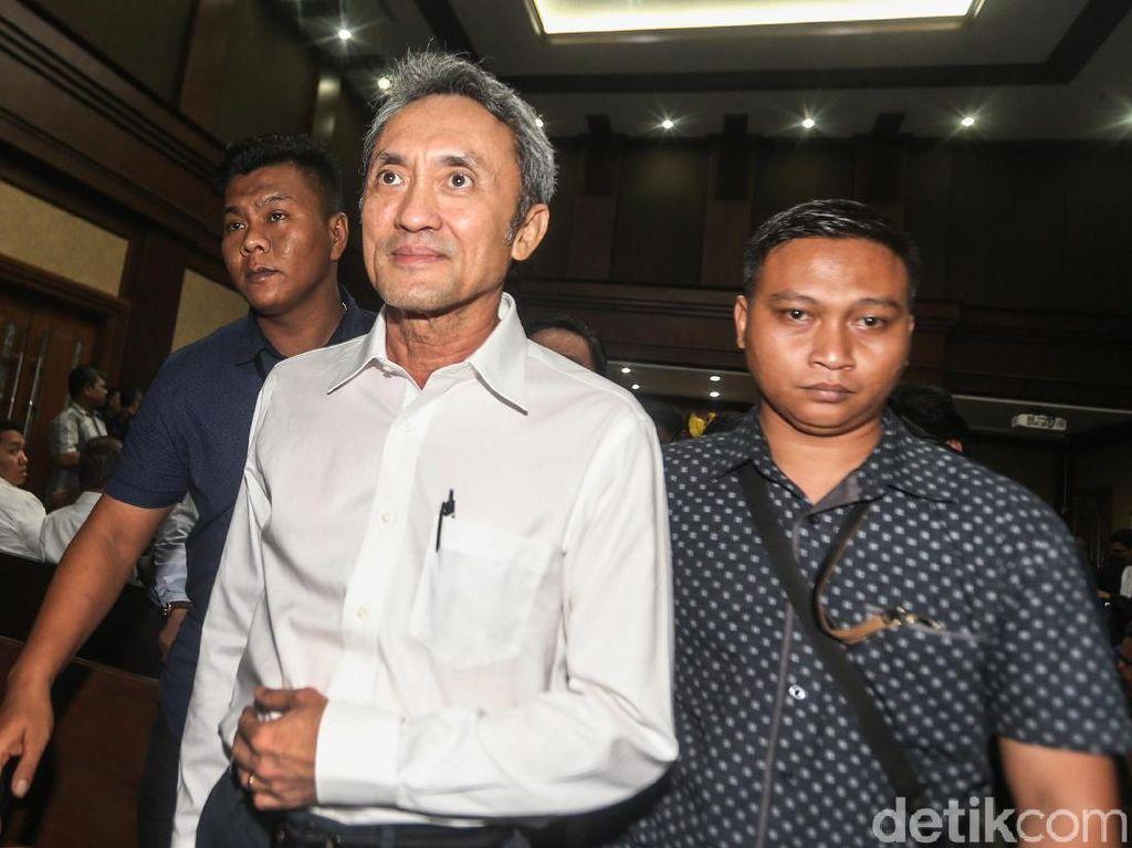 Eddy Sindoro Bantah Perintahkan Suap untuk Eks Panitera PN Jakpus