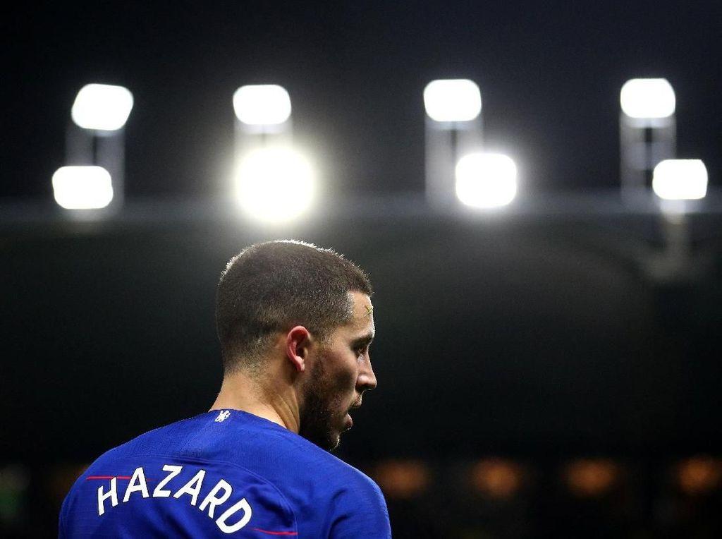 Roberto Martinez ke Hazard: Bertahan Saja di Chelsea