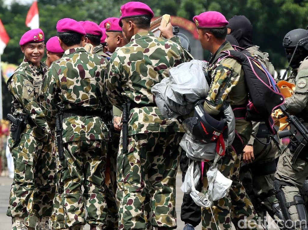 Tangani WNI Dievakuasi dari Wuhan, Marinir Kirim Satgas Kemanusiaan ke Natuna