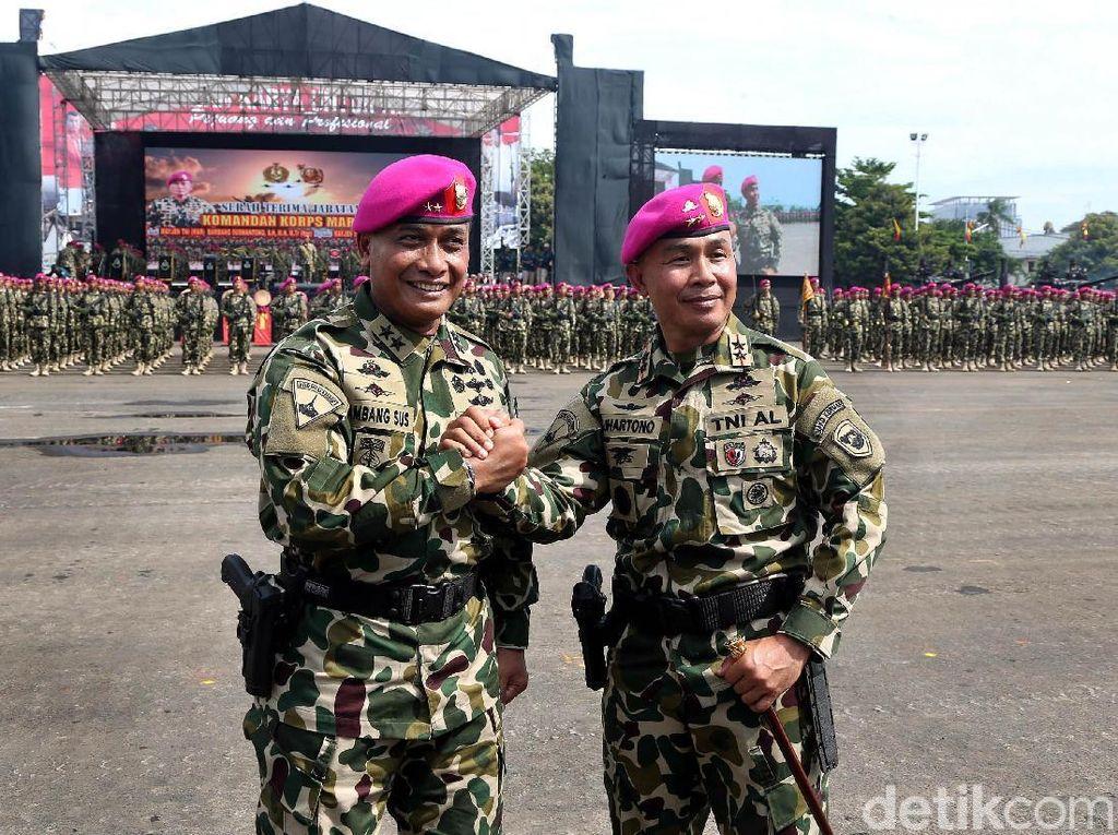 Sah! Mayjen Suhartono Pimpin Korps Marinir