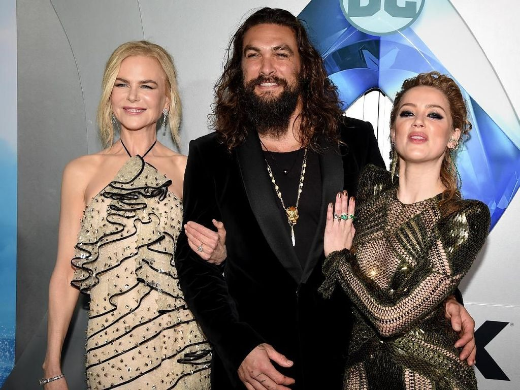 Merayakan Keberhasilan Aquaman