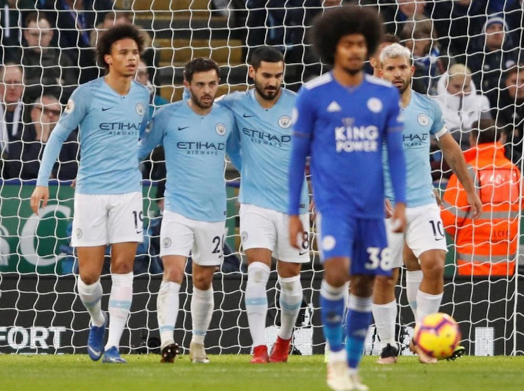 Preview Man City Vs Leicester: Awas Terpeleset, The Citizens