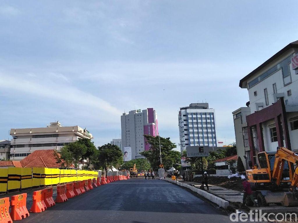 Uji Coba Jalan Gubeng Terancam Batal Digelar Hari Ini