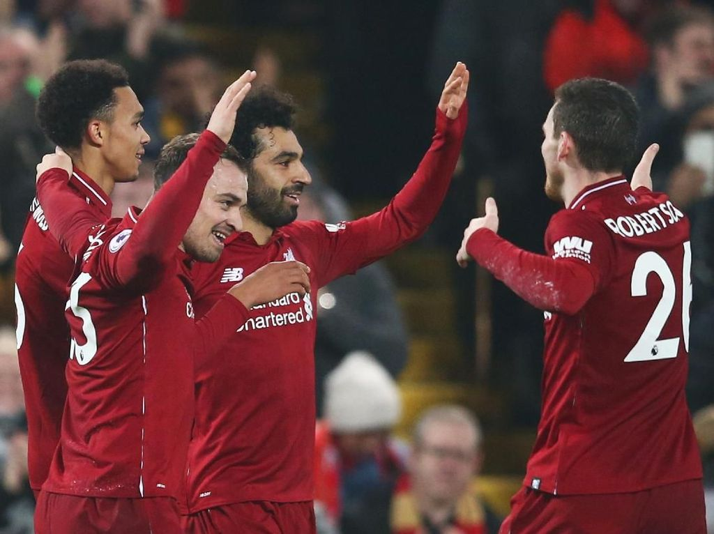Shaqiri: Liverpool Gugup di Puncak Klasemen? Tidak Kok