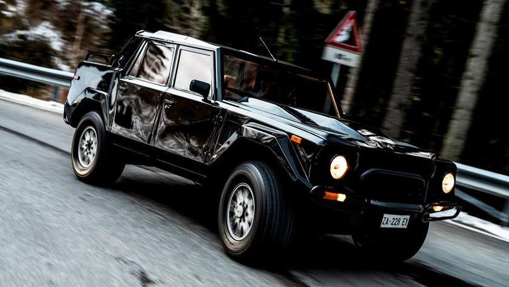 SUV Lamborghini Pertama Itu Lahir Sejak 1989