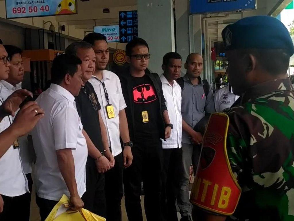 Johar Lin Eng, Perkasa di PSSI Berakhir Diborgol Polisi