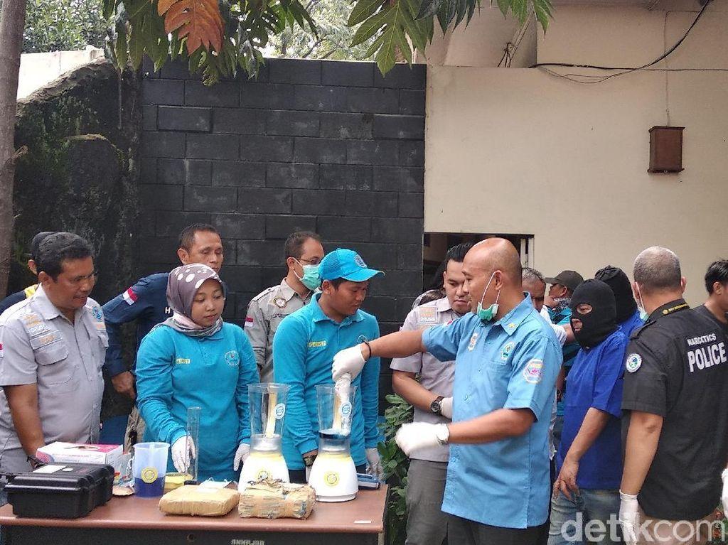 BNN Blender Sabu Milik Napi Lapas Subang