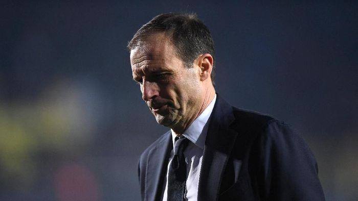 Massimiliano Allegri mendapat dukungan dari Blaise Matuidi untuk tetap melatih di Juventus. (Foto: Alberto Lingria/Reuters)