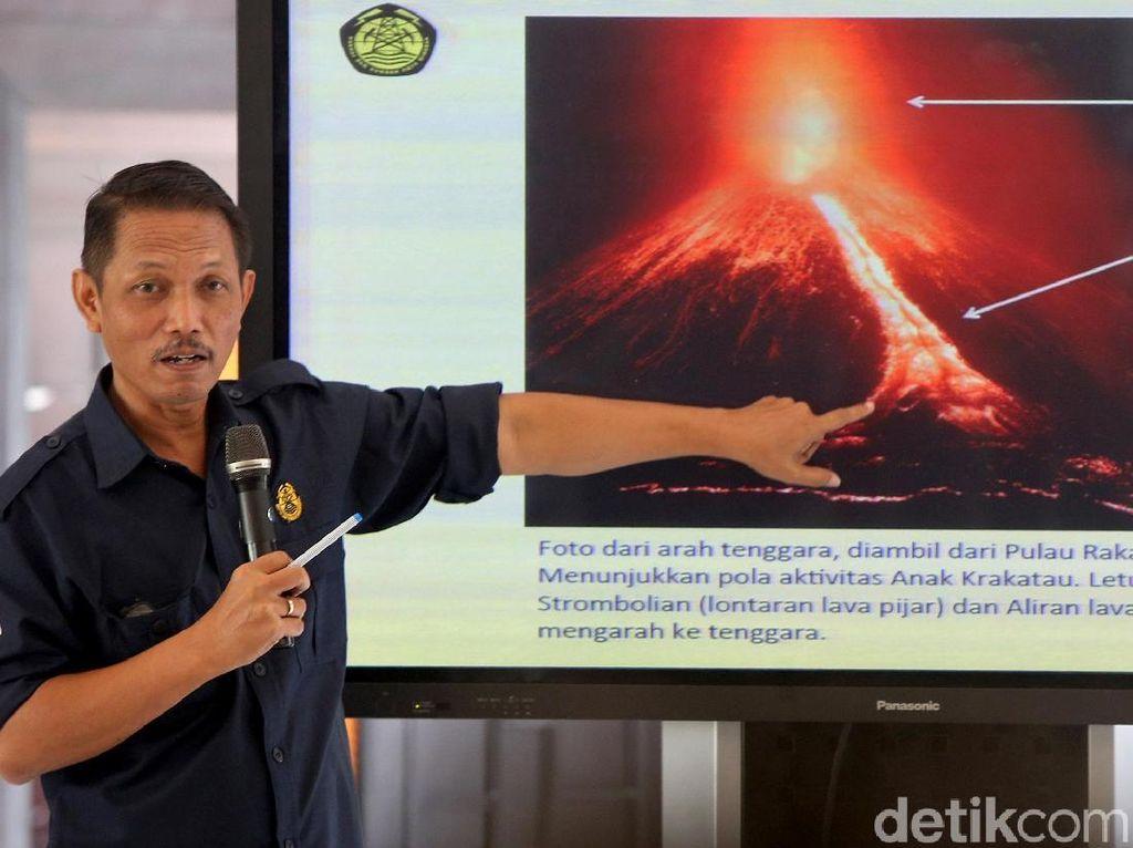 PVMBG Jelaskan Kondisi Terkini Gunung Anak Krakatau