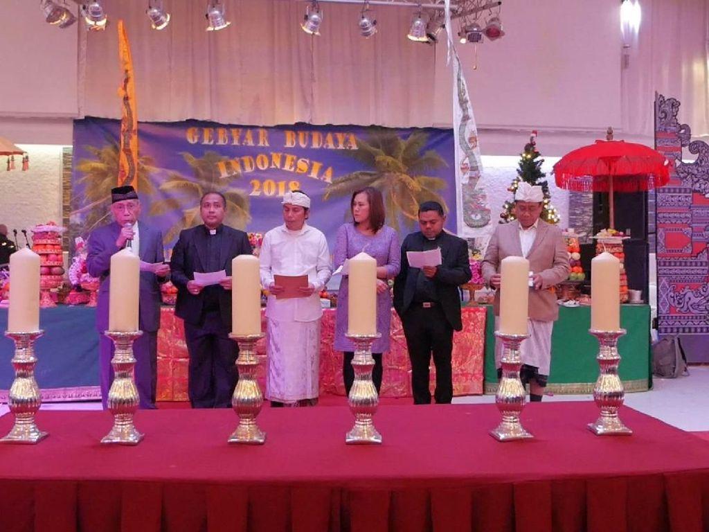 KBRI dan WNI di Belanda Doa Bersama untuk Korban Tsunami Selat Sunda
