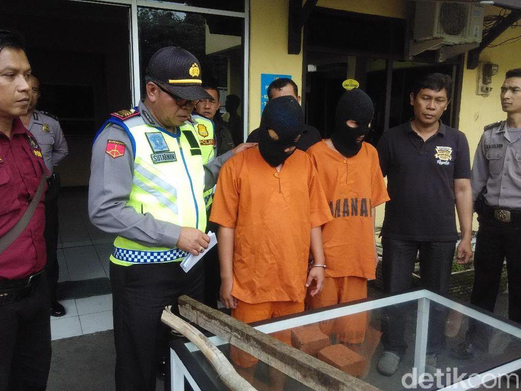 Bentrok Geng Motor di Cimahi, Dua Orang Jadi Tersangka