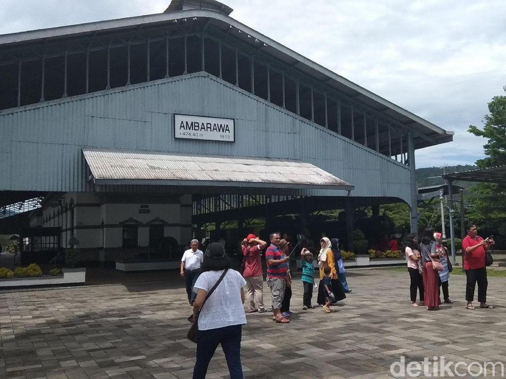 Libur Akhir Tahun, Museum KA Ambarawa Ramai Turis
