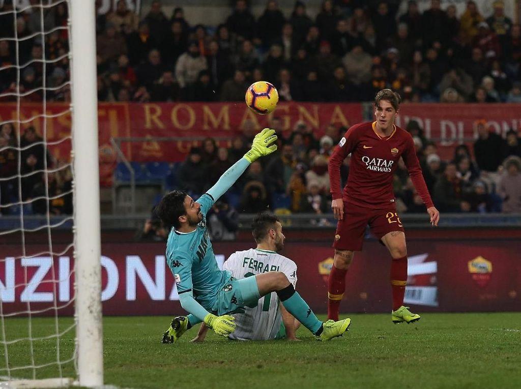 Hasil Liga Italia : AS Roma Kalahkan Sassuolo 3-1 di Olimpico