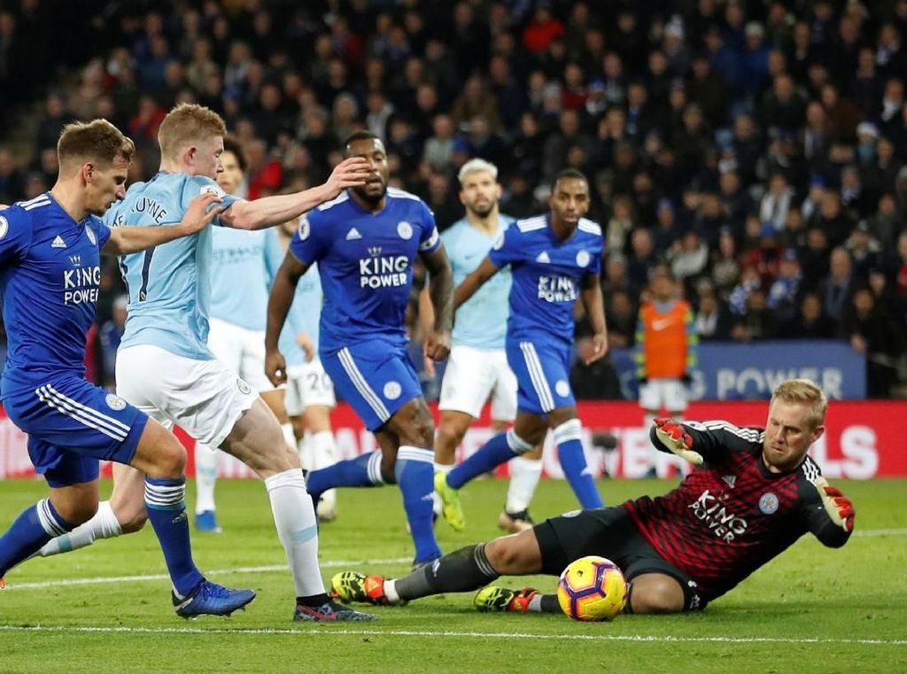 Leicester Bakal Andalkan Serangan Balik di Kandang City