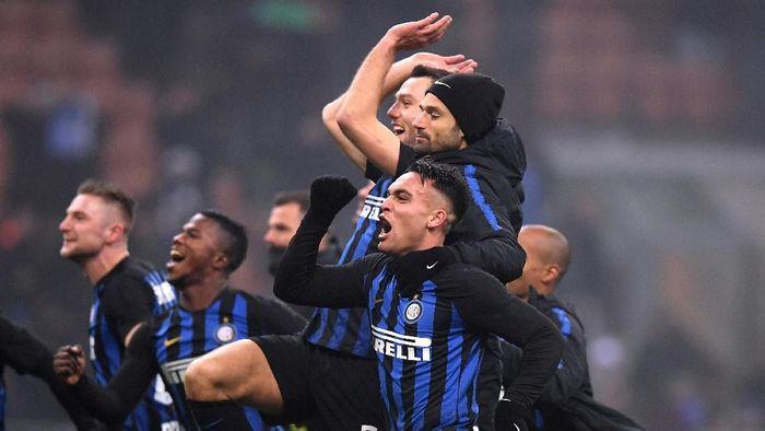 Inter Milan menjamu Lazio di Coppa Italia. (Foto: Alberto Lingria/Reuters)