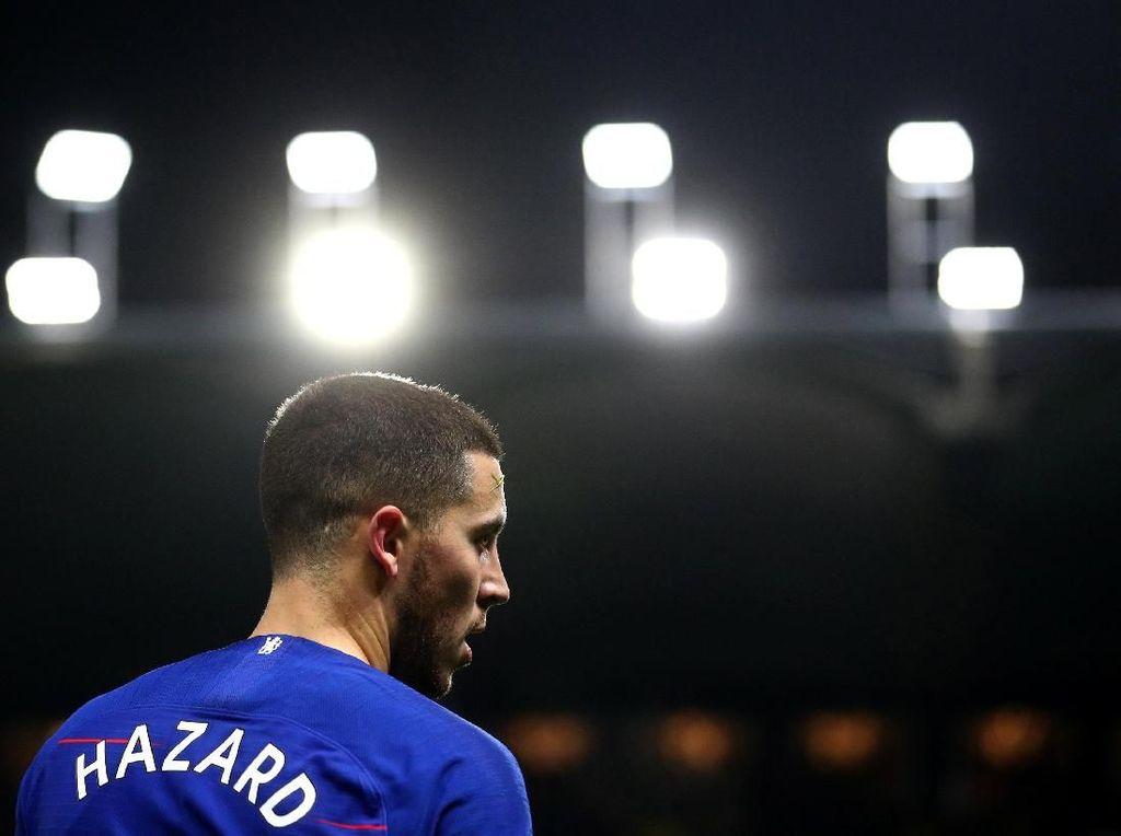Hazard Tembus 100 Gol di Chelsea