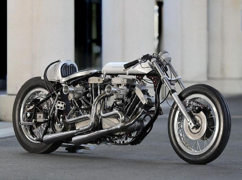 Wah Gila Sih! Harley-Davidson Ini Gendong 2 Mesin V-Twin