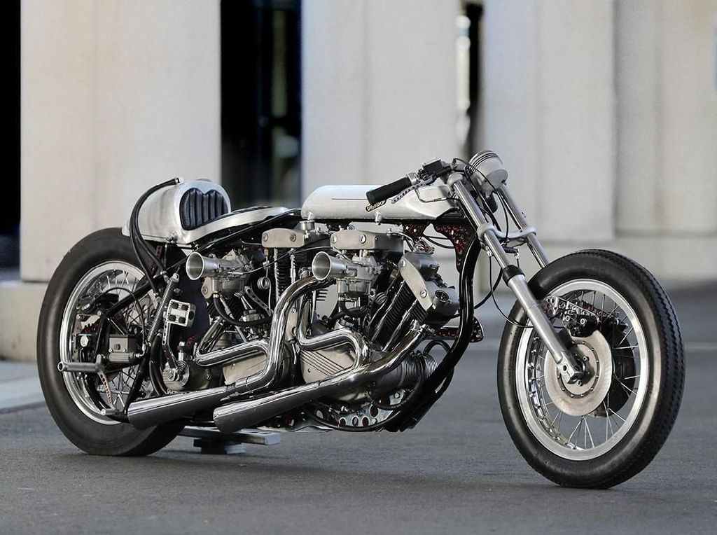 Harley-Davidson Ini Gendong 2 Mesin V-Twin