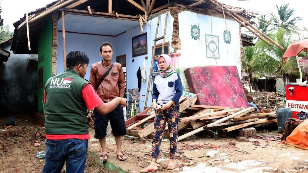 Bantuan Hunian untuk Korban Tsunami Selat Sunda