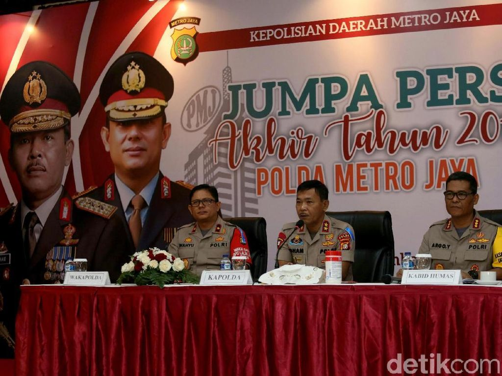 20 Ribu Polisi Siap Amankan Malam Tahun Baru di Jakarta