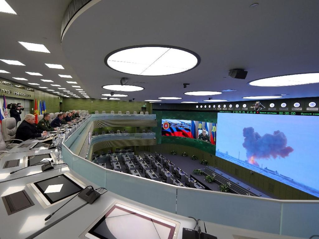 Rusia Klaim Rudal Hipersonik Barunya Bisa Melesat 30 Ribu Km Per Jam
