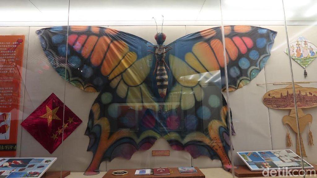 Foto: Layangan Unik di The Kite Museum China