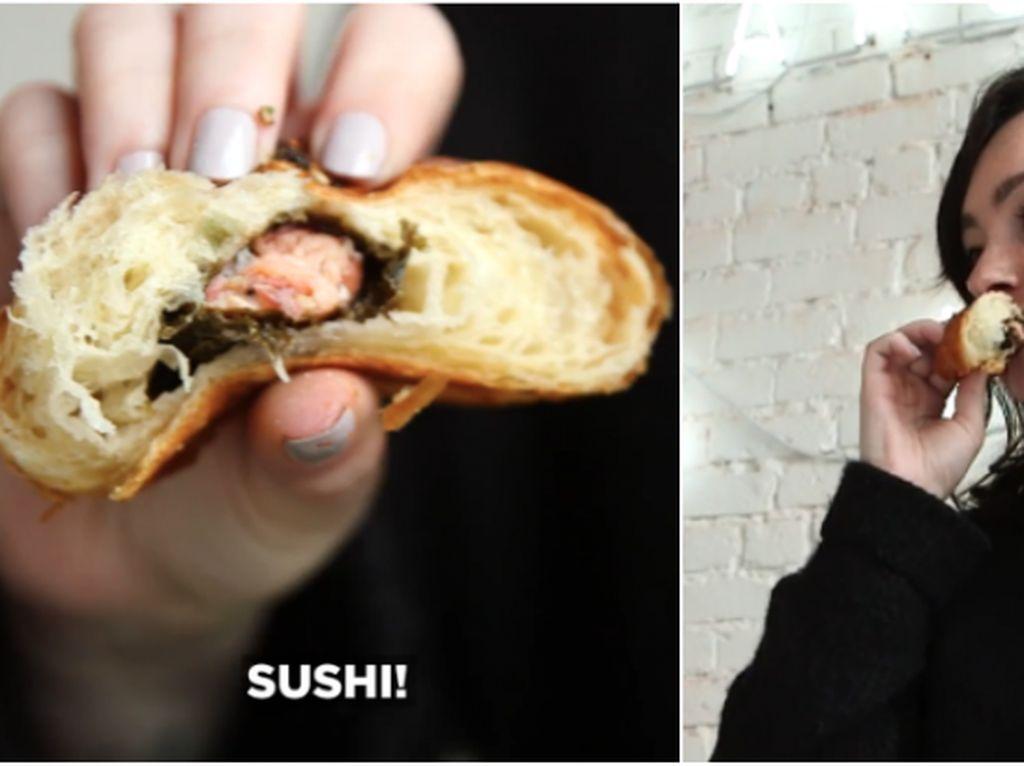 Ada California Croissant Diisi Sushi, Netizen Protes Keras