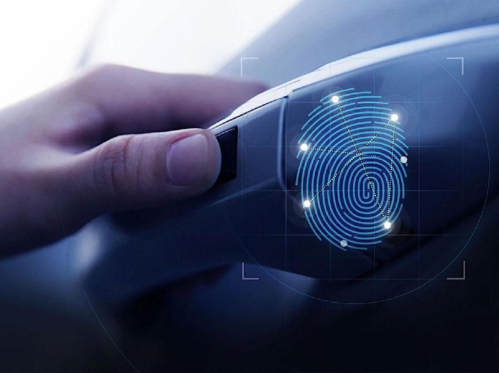 Canggih! Buka Pintu Mobil Bisa Pakai Sidik Jari