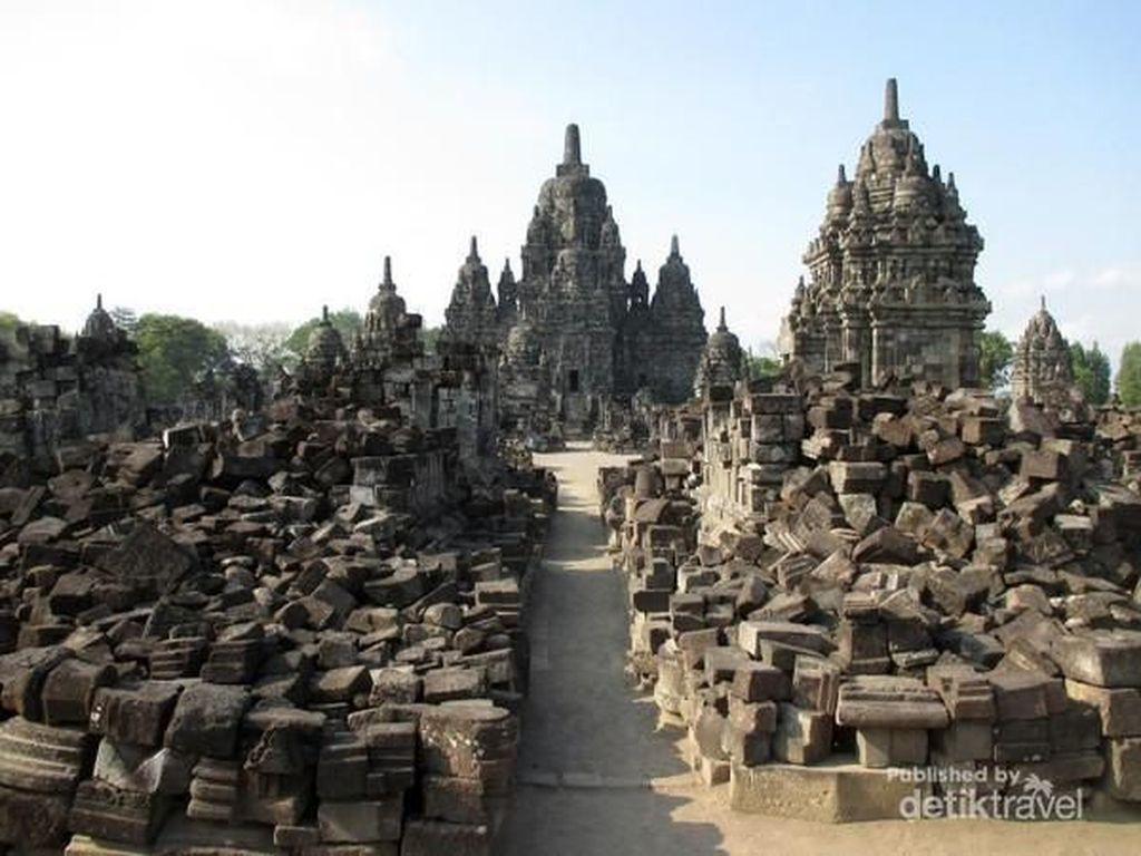 Candi Terbesar Kedua Indonesia Setelah Borobudur, Sewu