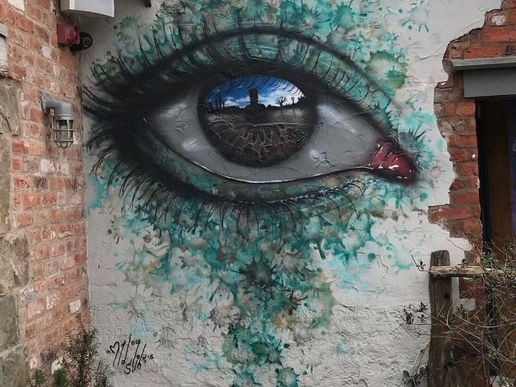 Kumpulan Lukisan Mural Raksasa yang Bikin Mata Terpesona