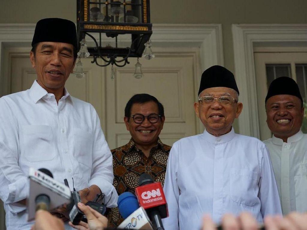 Video Survei Median: 54% Orang Puas terhadap Kinerja Jokowi-Maruf