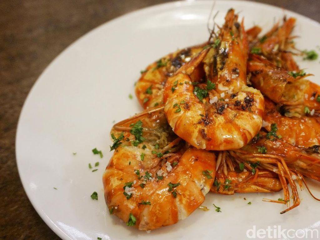 Mudah dan Praktis, Grilled Prawn Garlic Ala Chef Archie Prameswara