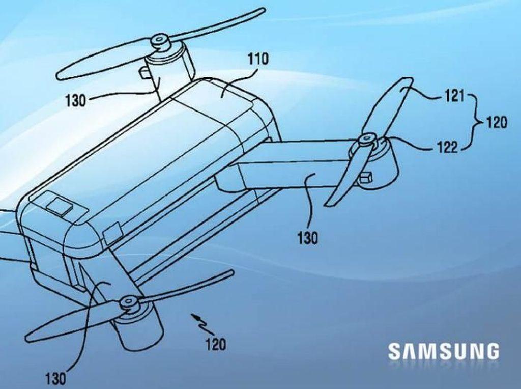 Samsung Mau Bikin Drone Lipat yang Bisa Bertransformasi?