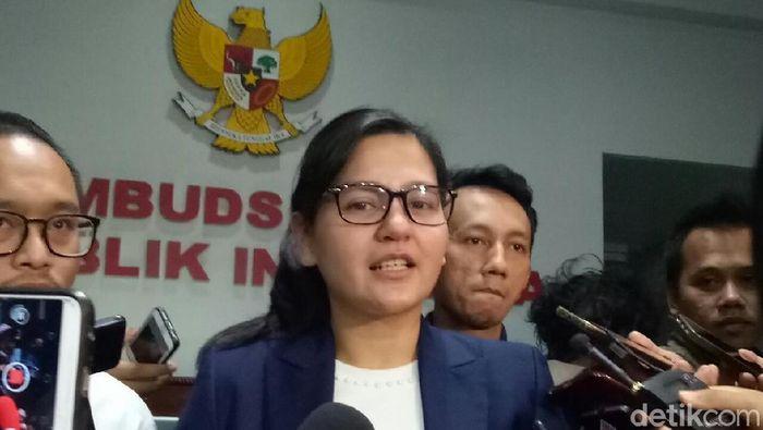 Sekjend PSSI Ratu Tisha Destria (Randy Prasatya/detikSport)