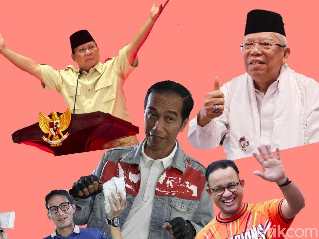Daftar 5 Tokoh Nasional detikcom Newsmakers of The Year 2018