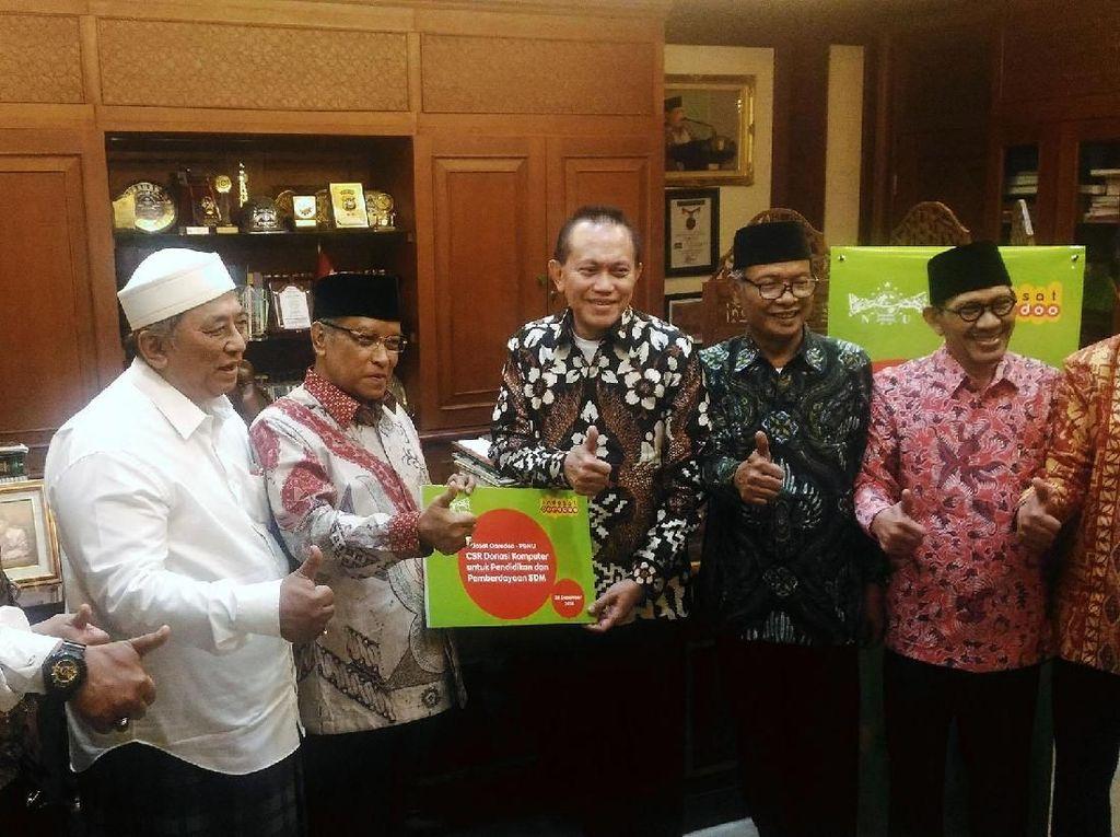 Indosat Ooredoo Gandeng PBNU