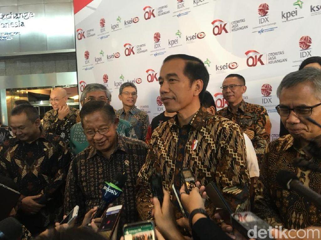 Jokowi Sebut IHSG Terbaik Kedua Dunia, Eh Ternyata...