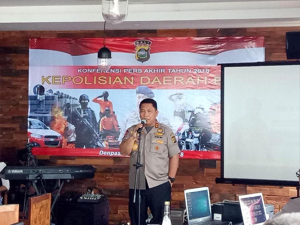 Sepanjang 2018, 75 WNA Pelaku Kejahatan di Bali Ditangkap