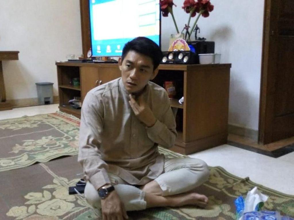 Harusnya Umrah Berdua, Ifan Disapa Dylan Sahara di Madinah