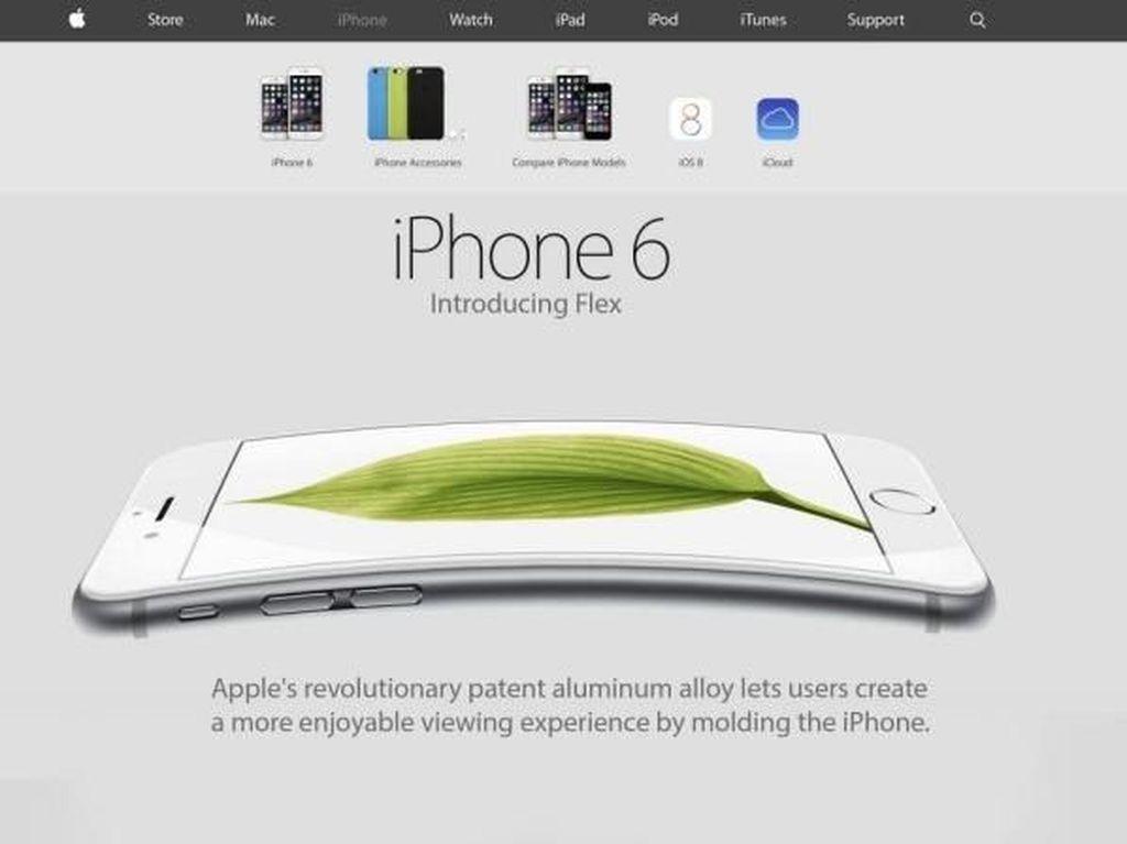 Rancangan iPhone Layar Lipat Apple Terbongkar