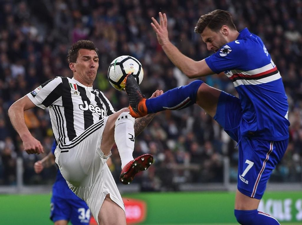 Sampdoria, Ujian Akhir Tahun untuk Juventus
