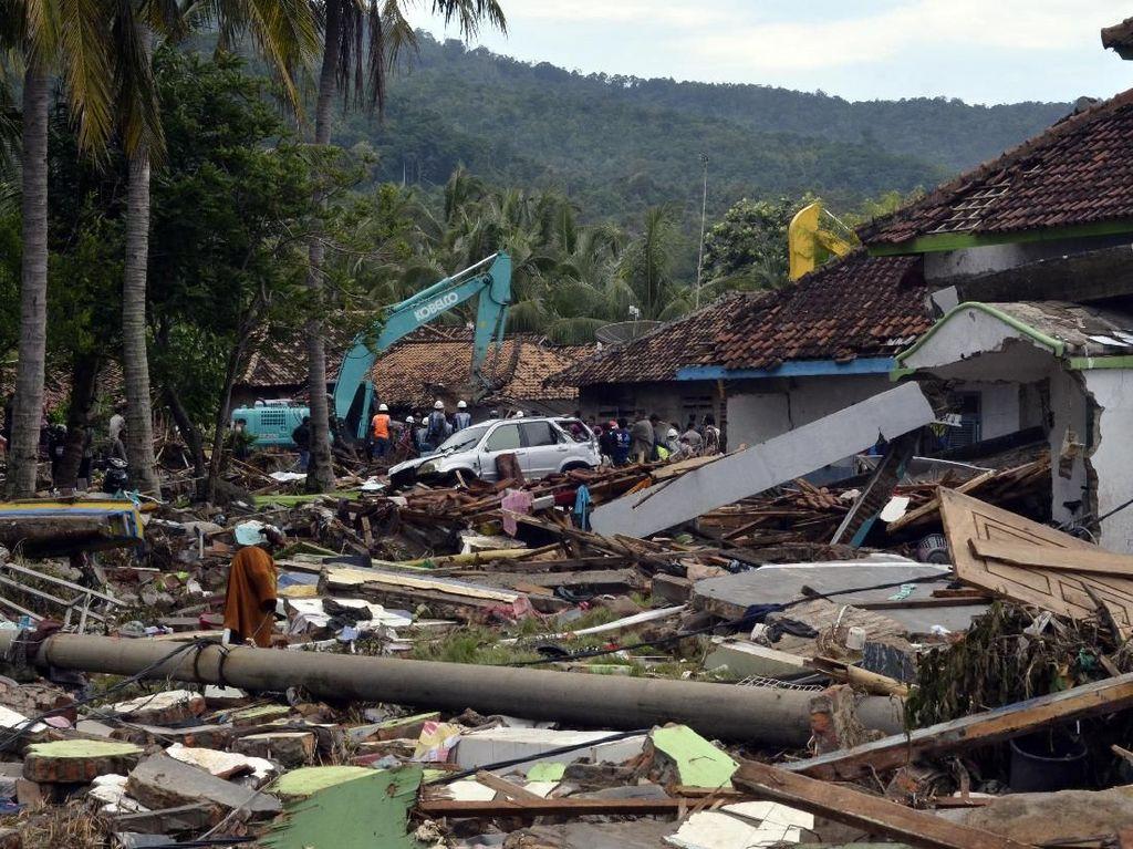 Polda Lampung: Jumlah Pengungsi Terdampak Tsunami 5.834 Jiwa