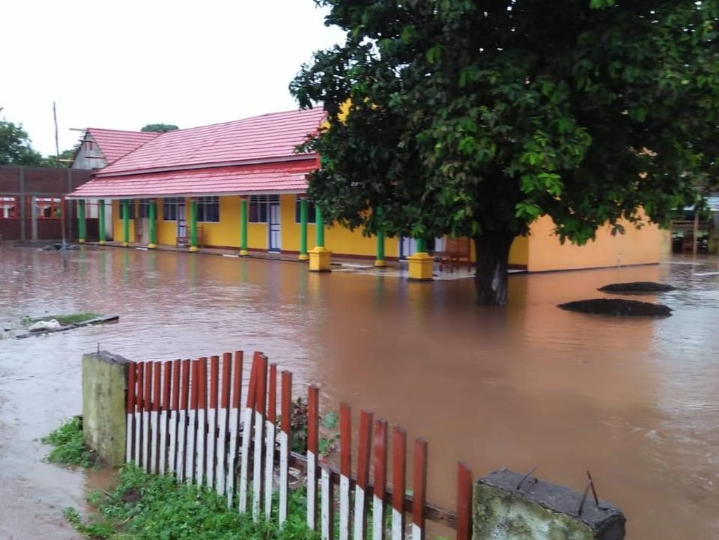 Banjir di Bima NTB Mulai Surut