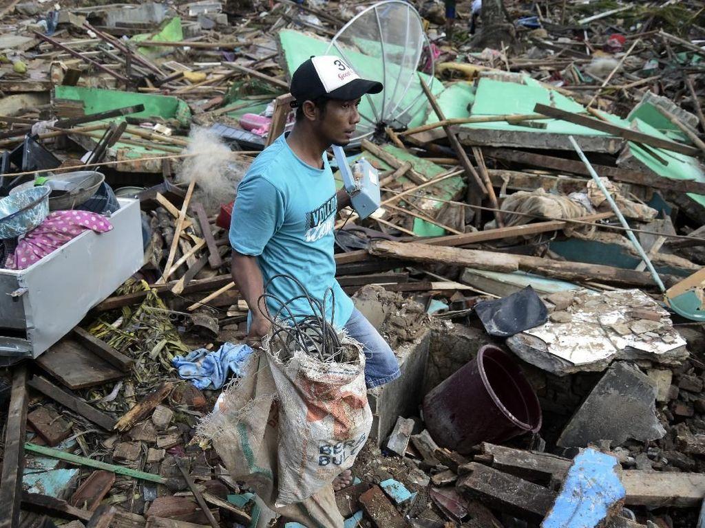 Pemprov Banten Tanggung Perbaikan 441 Rumah Korban Tsunami