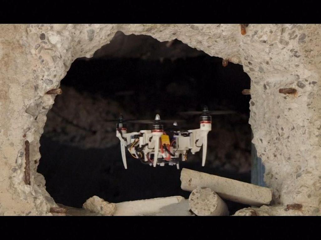 Canggih! Drone Lentur Bikinan Peneliti Universitas Zurich