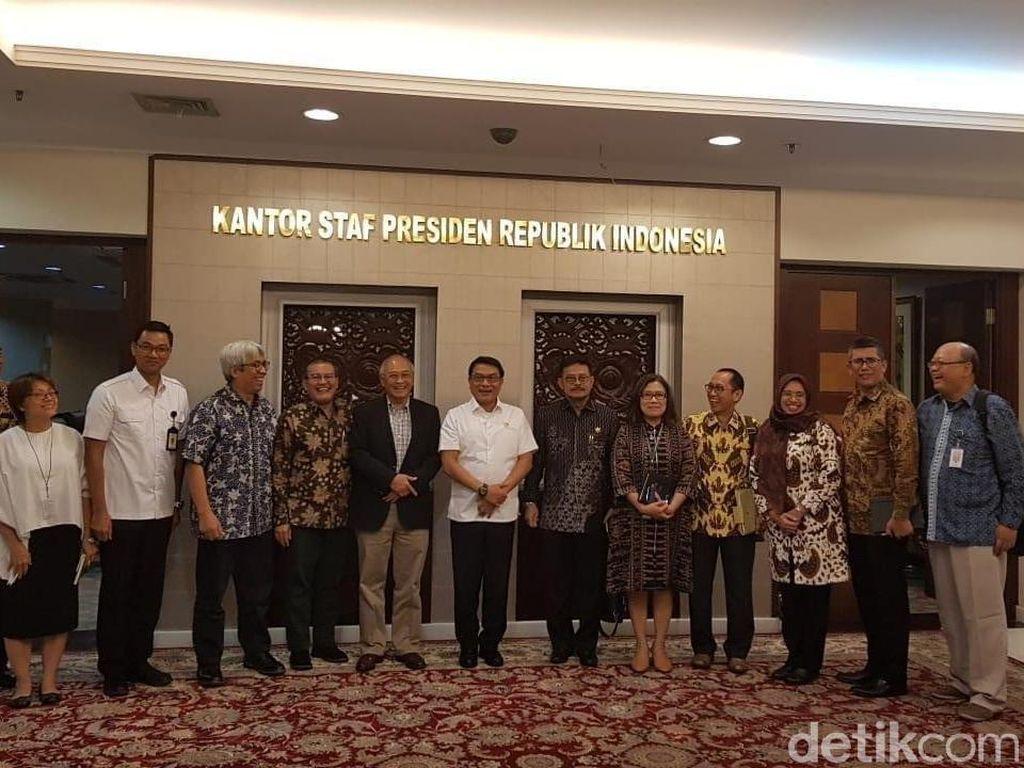 Menkeu SBY sampai Syahrul Yasin Limpo Jadi Tim Senior KSP