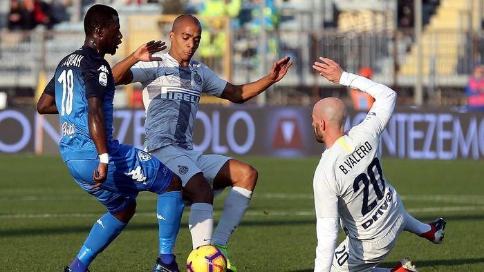Inter Milan menang 1-0 atas Empoli. (Foto: Gabriele Maltinti/Getty Images)