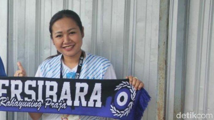 Lasmi Indaryani pernah jadi manajer timnas U-16 wanita Indonesia tahun lalu (Uje Hartono/detikSport)