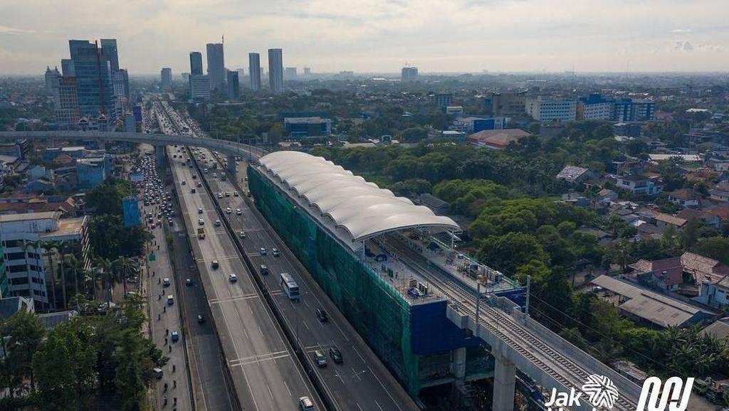 Keren! Deretan Stasiun MRT Jakarta Mulai Nampak Wujudnya