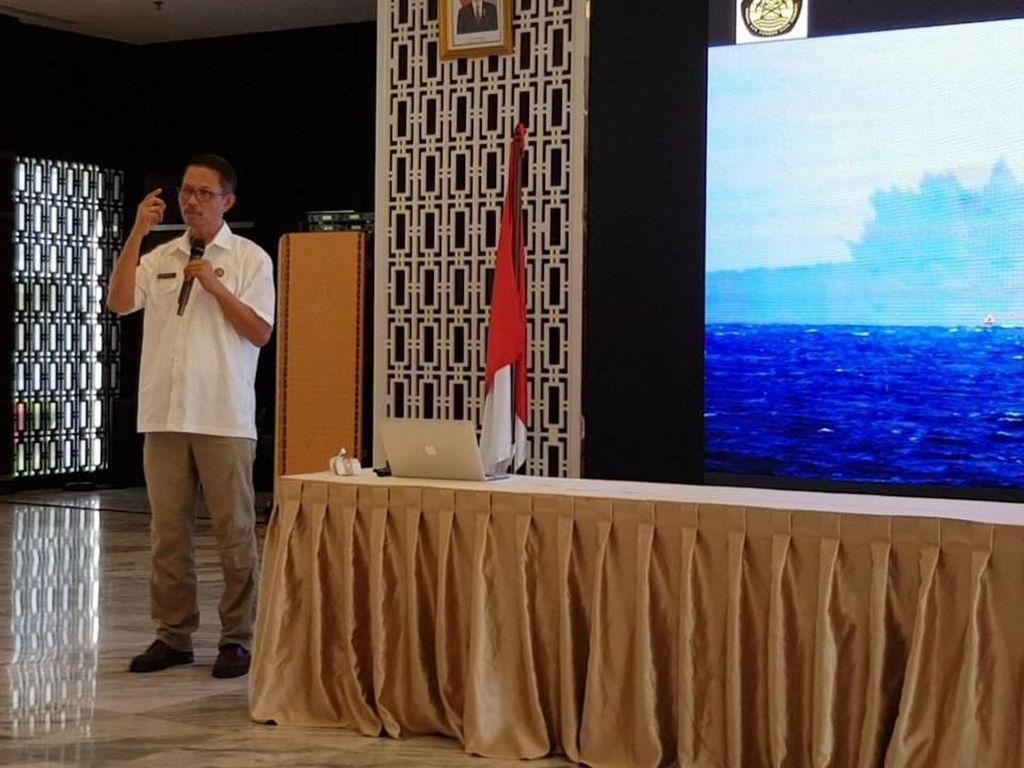 Tinggi Anak Krakatau Berkurang, Badan Geologi: Potensi Tsunami Kecil